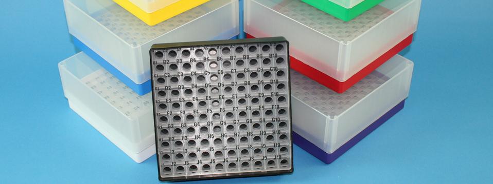 Online Shop / Système de commande, Cryoboîtes en Carton, Cryoboites en plastique, Congélateur coffre étagère, Cryo horizontales racks, Cryo boîtes accessoires