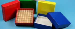 Cryoboxes fiberboard