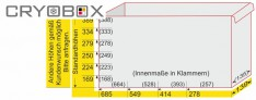 EPPI® Schrankkasten 139/278 mm