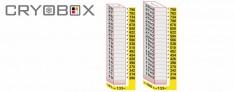 MTP Etagère verticale boite 26 mm h.