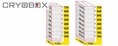 MTP Racks vertical Box 58 mm high