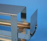 ALPHA Schrankeinschub 110, für 4 Kryoboxen bis 136x136x113 mm