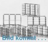 CellBox Maxi lang  Schrankgestell 2x2 Fächer für 4 Kryoboxen bis 148x287x128 mm Klappgriff, offene Bauform