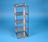 BRAVO Truhengestell 110, für 4 Kryoboxen bis 133x133x113 mm