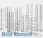 CellBox Maxi lang Truhengestell für 5 Kryoboxen bis 148x287x128 mm Klappgriff, Edelstahl