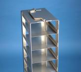 Mikrotiter Truhengestell, für 7 MT-Platten bis 86x128x45 mm