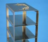 Mikrotiter Truhengestell, für 12 MT-Platten bis 86x128x53 mm