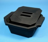 Thorbi Isolierbehälter / Mit Deckel, Inhalt 2,5 Liter, schwarz