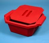 Thorbi Isolierbehälter / Mit Deckel, Inhalt 2,5 Liter rot