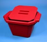 Thorbi Isolierbehälter / Mit Deckel, Inhalt 4,5 Liter rot